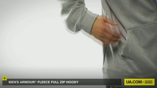 Men's Armour® Fleece Full Zip Hoody - image 7 from the video