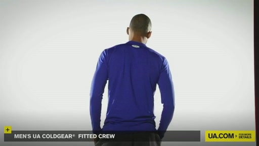 Men's UA ColdGear® Fitted Crew - image 5 from the video