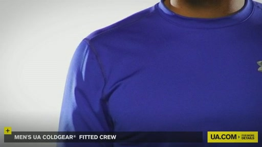 Men's UA ColdGear® Fitted Crew - image 8 from the video