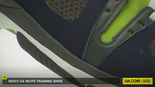 Men's UA Incite Training Shoe - image 4 from the video