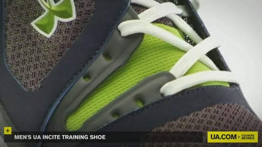 Men's UA Incite Training Shoe - image 5 from the video