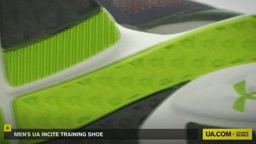 Men's UA Incite Training Shoe - image 7 from the video