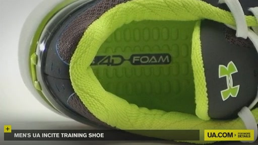 Men's UA Incite Training Shoe - image 9 from the video