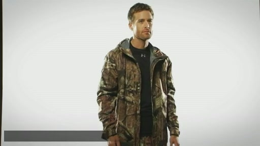 Men's UA Armour™ Stealth Rain Jacket  - image 1 from the video