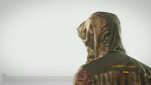 Men's UA Armour™ Stealth Rain Jacket  - image 10 from the video