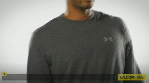 Men's UA Charged Cotton® Longsleeve T-Shirt - image 10 from the video