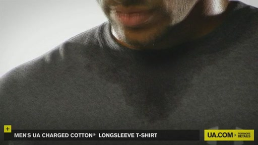 Men's UA Charged Cotton® Longsleeve T-Shirt - image 3 from the video