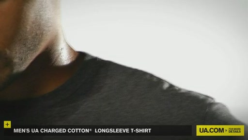 Men's UA Charged Cotton® Longsleeve T-Shirt - image 4 from the video
