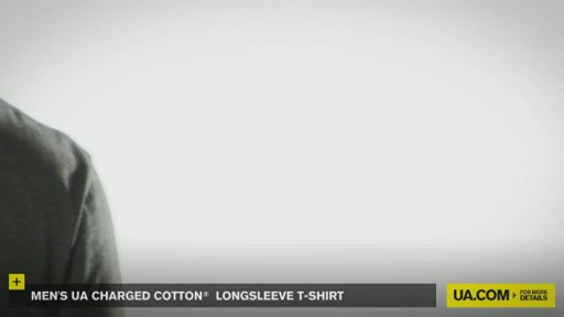 Men's UA Charged Cotton® Longsleeve T-Shirt - image 7 from the video