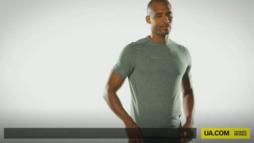 Men's UA HeatGear® Touch Fitted Shortsleeve Crew  - image 1 from the video