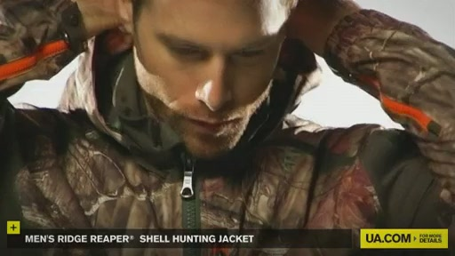 Men's Ridge Reaper® Shell Hunting Jacket - image 3 from the video