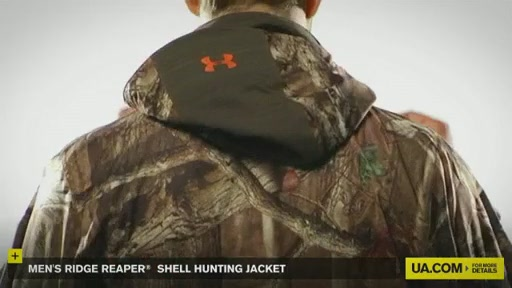 Men's Ridge Reaper® Shell Hunting Jacket - image 7 from the video