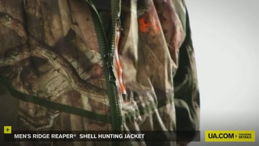 Men's Ridge Reaper® Shell Hunting Jacket - image 9 from the video