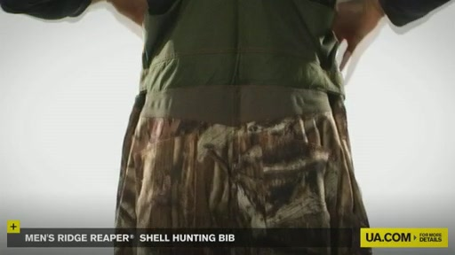 Men's Ridge Reaper® Shell Hunting Bib - image 2 from the video