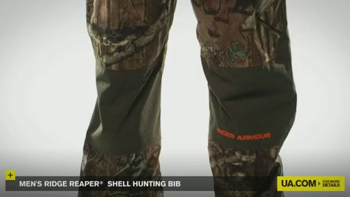 Men's Ridge Reaper® Shell Hunting Bib - image 3 from the video