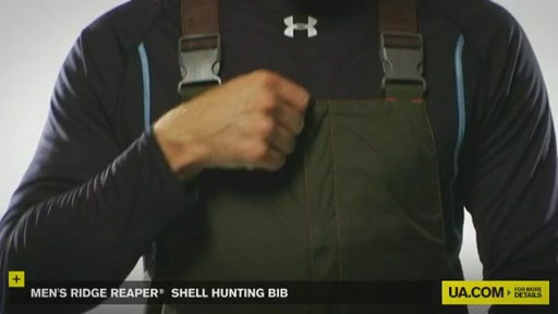 Men's Ridge Reaper® Shell Hunting Bib - image 4 from the video