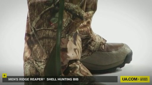 Men's Ridge Reaper® Shell Hunting Bib - image 5 from the video