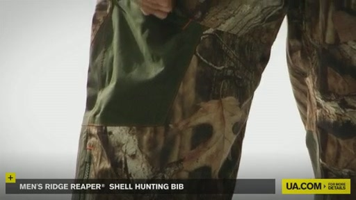 Men's Ridge Reaper® Shell Hunting Bib - image 7 from the video
