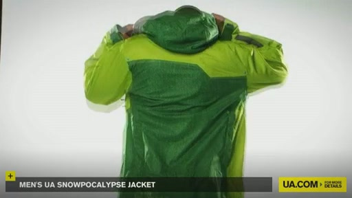Men's Snowpocalypse Jacket - image 4 from the video