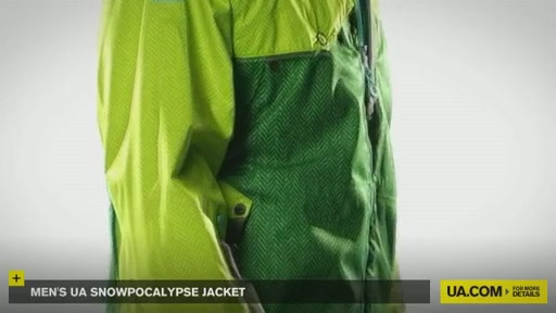Men's Snowpocalypse Jacket - image 7 from the video
