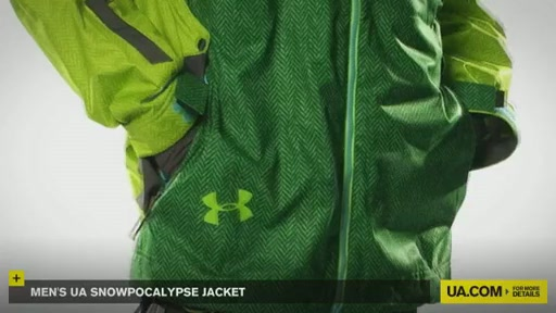 Men's Snowpocalypse Jacket - image 8 from the video
