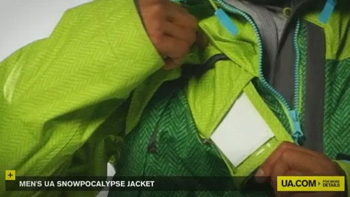 Men's Snowpocalypse Jacket - image 9 from the video