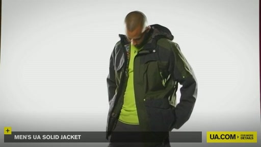 Men's UA Solid Jacket - image 3 from the video