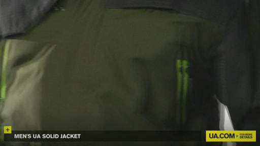 Men's UA Solid Jacket - image 6 from the video