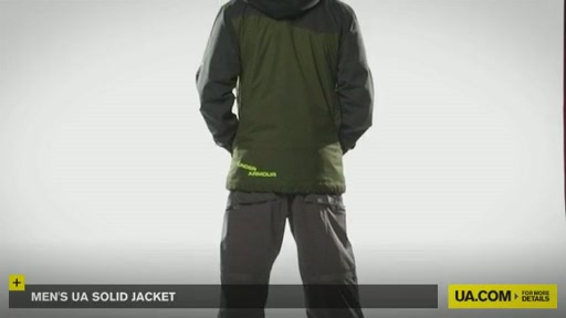 Men's UA Solid Jacket - image 7 from the video