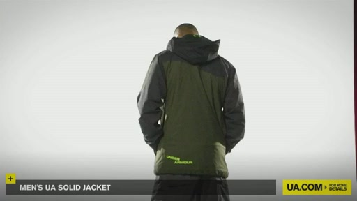 Men's UA Solid Jacket - image 8 from the video