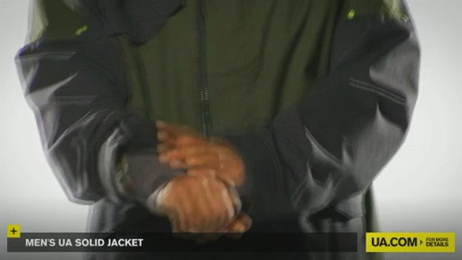 Men's UA Solid Jacket - image 9 from the video