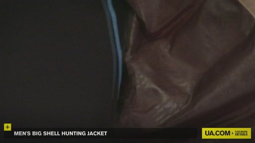 Men's Big Shell Hunting Jacket - image 2 from the video