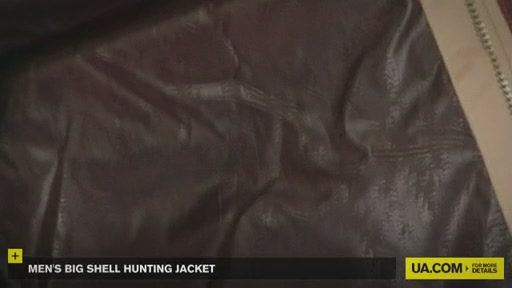 Men's Big Shell Hunting Jacket - image 3 from the video