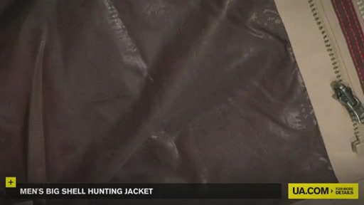 Men's Big Shell Hunting Jacket - image 4 from the video