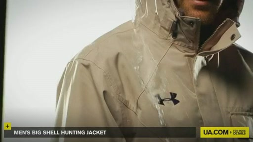 Men's Big Shell Hunting Jacket - image 5 from the video