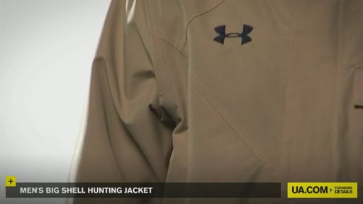 Men's Big Shell Hunting Jacket - image 6 from the video
