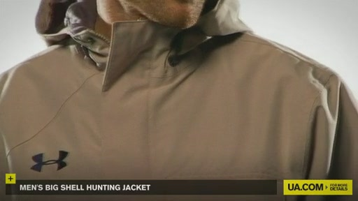 Men's Big Shell Hunting Jacket - image 7 from the video