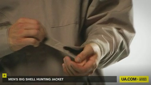 Men's Big Shell Hunting Jacket - image 8 from the video