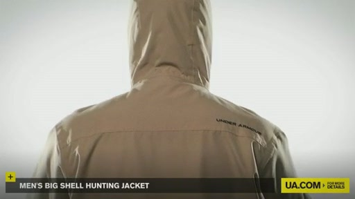 Men's Big Shell Hunting Jacket - image 9 from the video