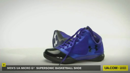 Men's UA Micro G® Supersonic Basketball Shoe - image 2 from the video