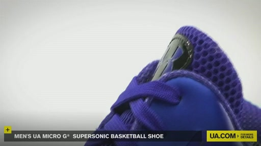 Men's UA Micro G® Supersonic Basketball Shoe - image 4 from the video