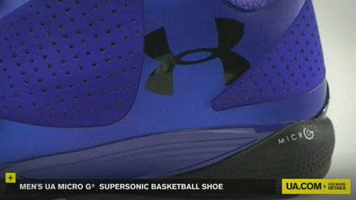 Men's UA Micro G® Supersonic Basketball Shoe - image 8 from the video