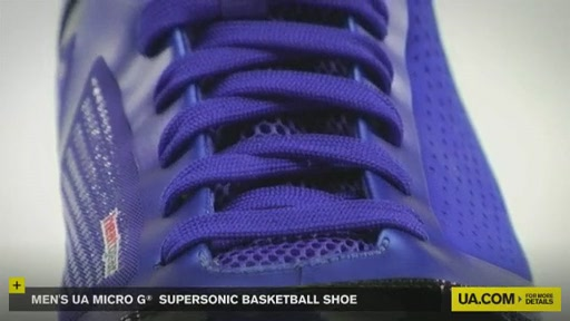 Men's UA Micro G® Supersonic Basketball Shoe - image 9 from the video