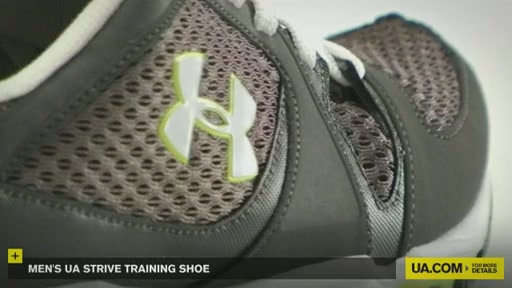 Men's UA Strive Training Shoe - image 4 from the video