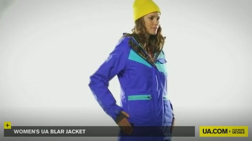 Women's UA Blar Jacket  - image 2 from the video