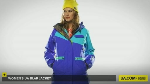 Women's UA Blar Jacket  - image 3 from the video