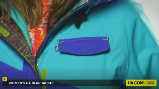 Women's UA Blar Jacket  - image 5 from the video