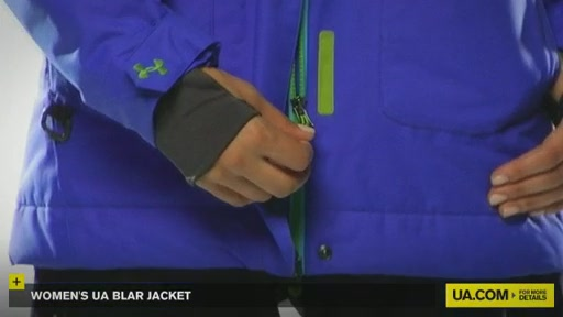 Women's UA Blar Jacket  - image 6 from the video