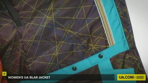 Women's UA Blar Jacket  - image 7 from the video