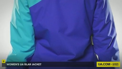 Women's UA Blar Jacket  - image 8 from the video